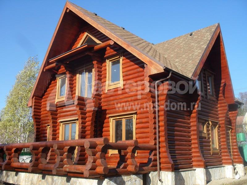 Деревянные дома под ключ в Москве и